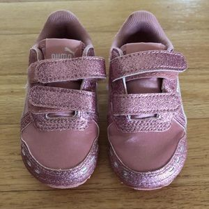 ☀️Puma Baby Sparkle Pink Sneakers 4C